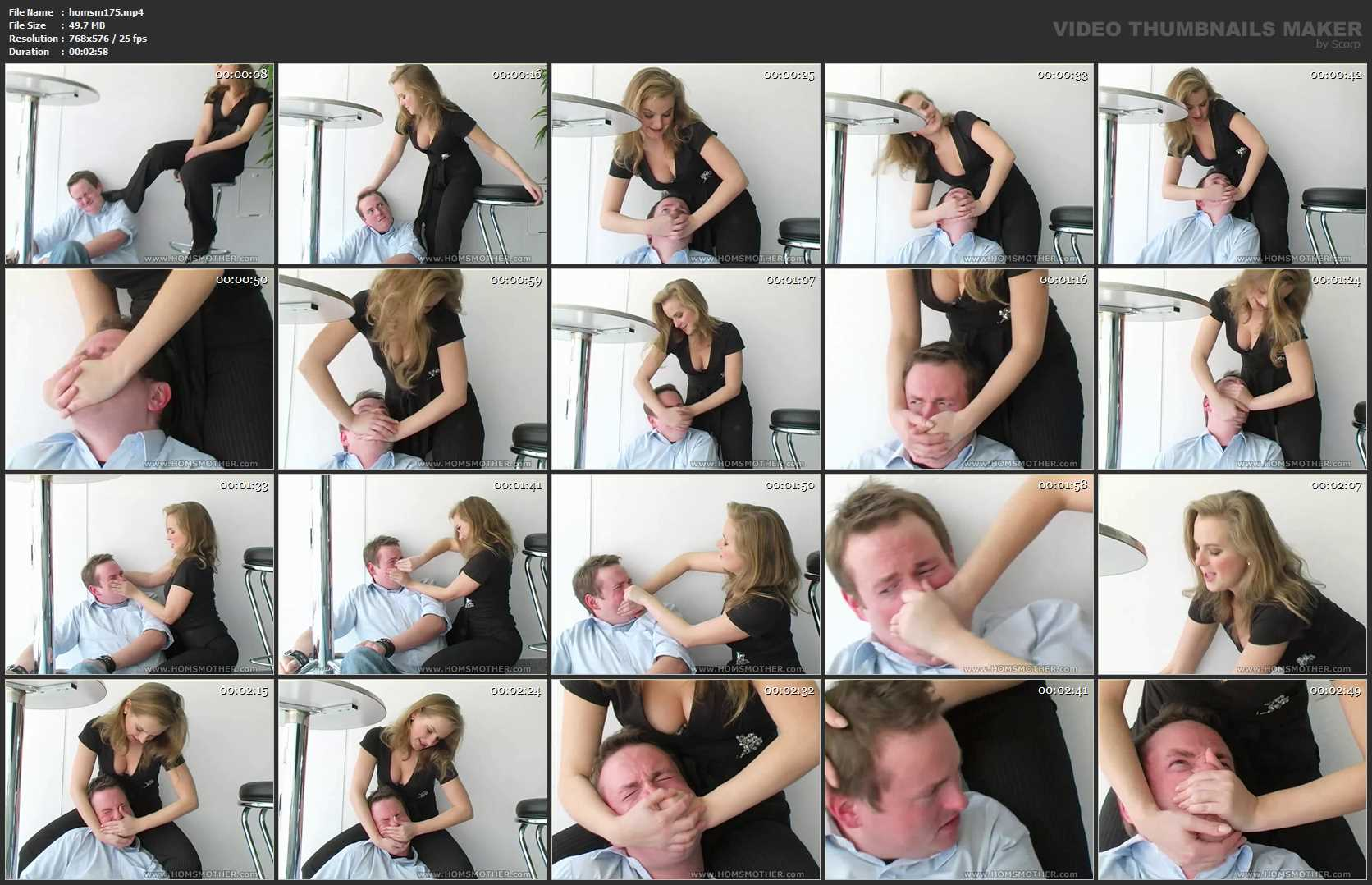 Mistress Alita In Scene: Mistress Alita Smother - HOMSMOTHER - SD/576p/MP4