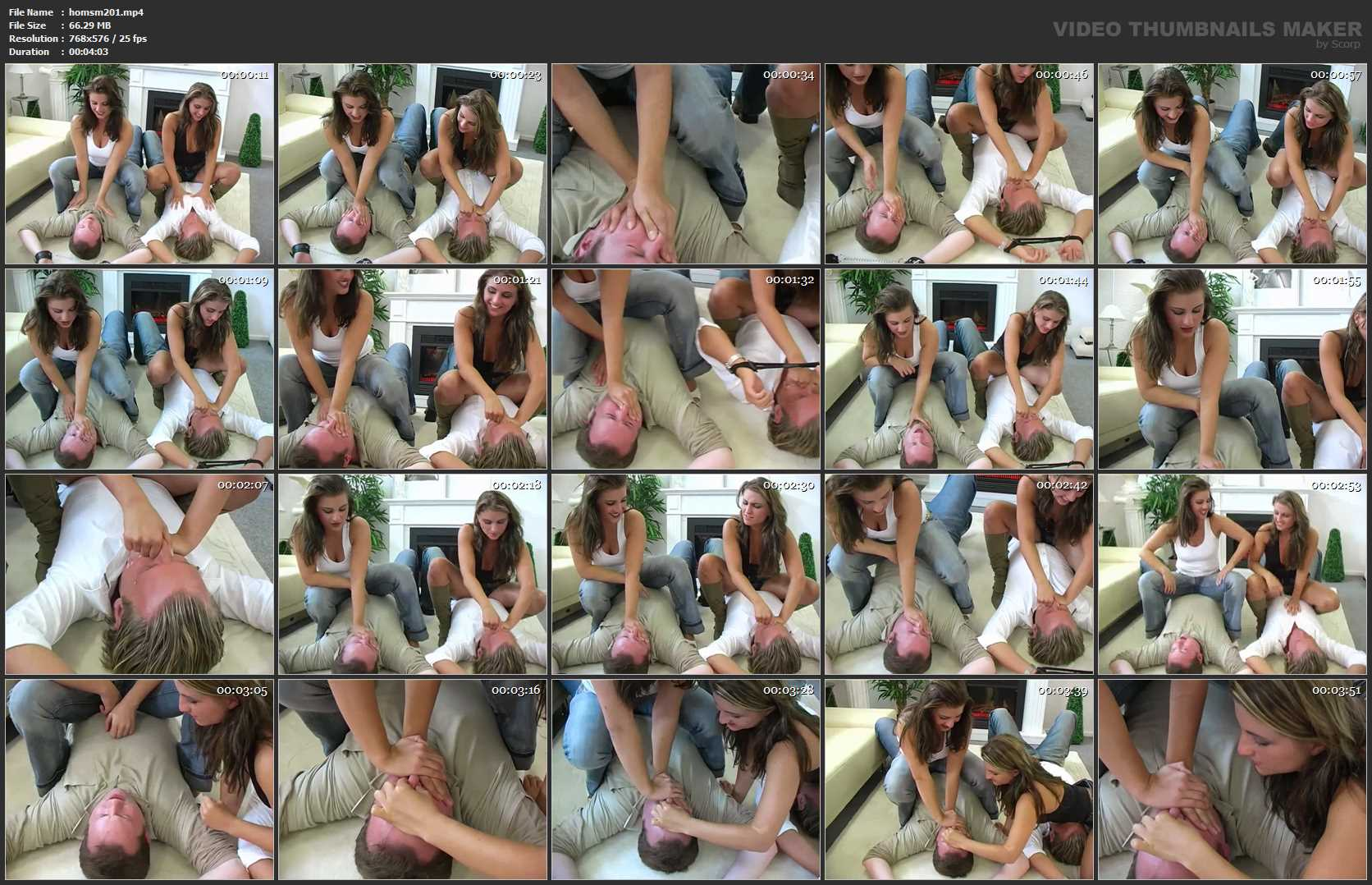 Anna, Kathy In Scene: Homsmother Twins - HOMSMOTHER - SD/576p/MP4