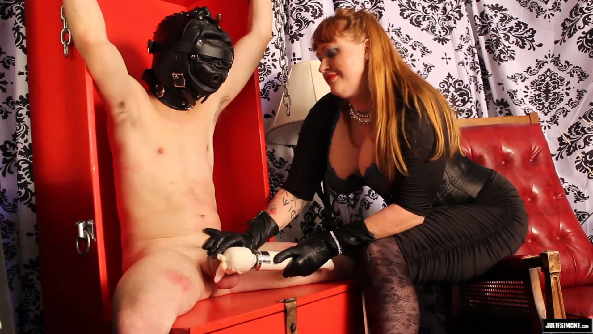 Julie Simone, Fluffykins In Scene: Chastity Tease & Denial - JULIESIMONE - FULL HD/1080p/MP4