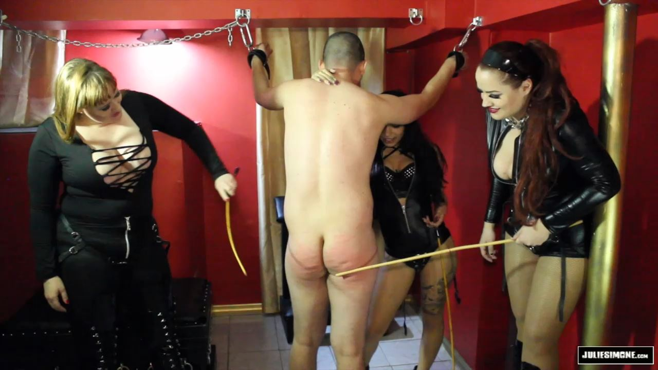 Betty Pickle, Lady Toro, Julie Simone In Scene: Caned by 3 Mistresses - JULIESIMONE - HD/720p/MP4