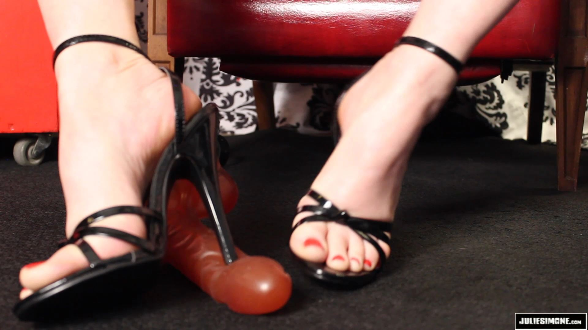 Julie Simone In Scene: Cockstomping POV - JULIESIMONE - FULL HD/1080p/MP4