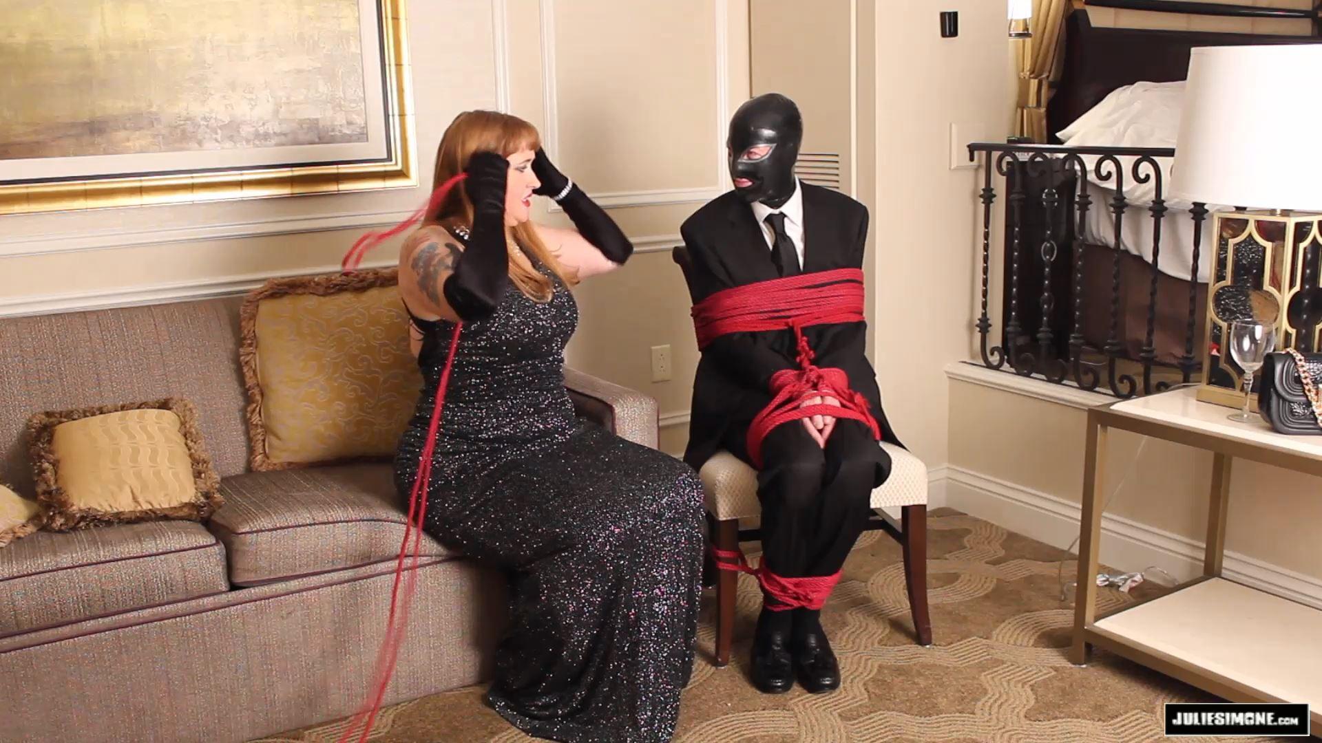 Julie Simone In Scene: Date Night Bondage Surprise Part 1 - JULIESIMONE - FULL HD/1080p/MP4