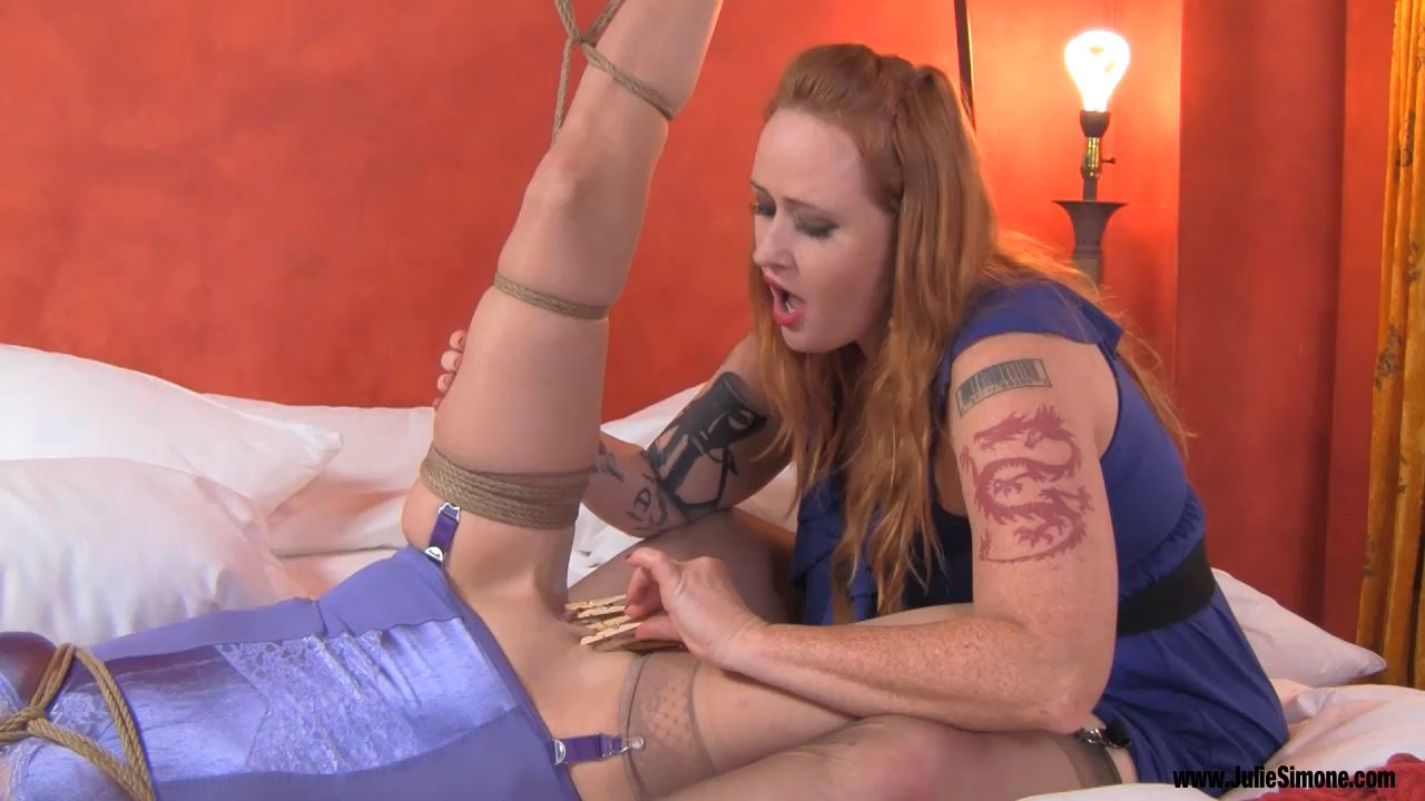 Ashley Renee, Julie Simone In Scene: Pussy Torment w Bound Orgasm - JULIESIMONE - HD/720p/MP4