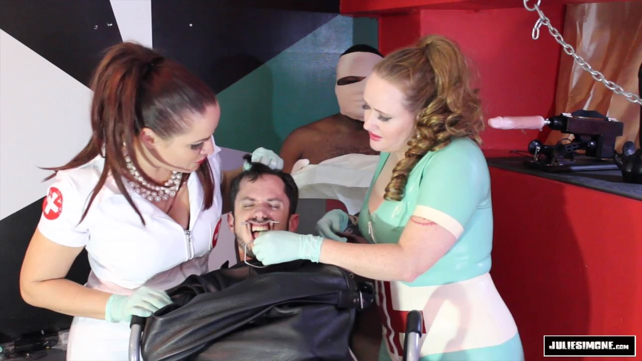 Betty Pickle, Julie Simone, Fluffykins In Scene: Making a Mussy Part 1 -Oral Punishment - JULIESIMONE - HD/720p/MP4