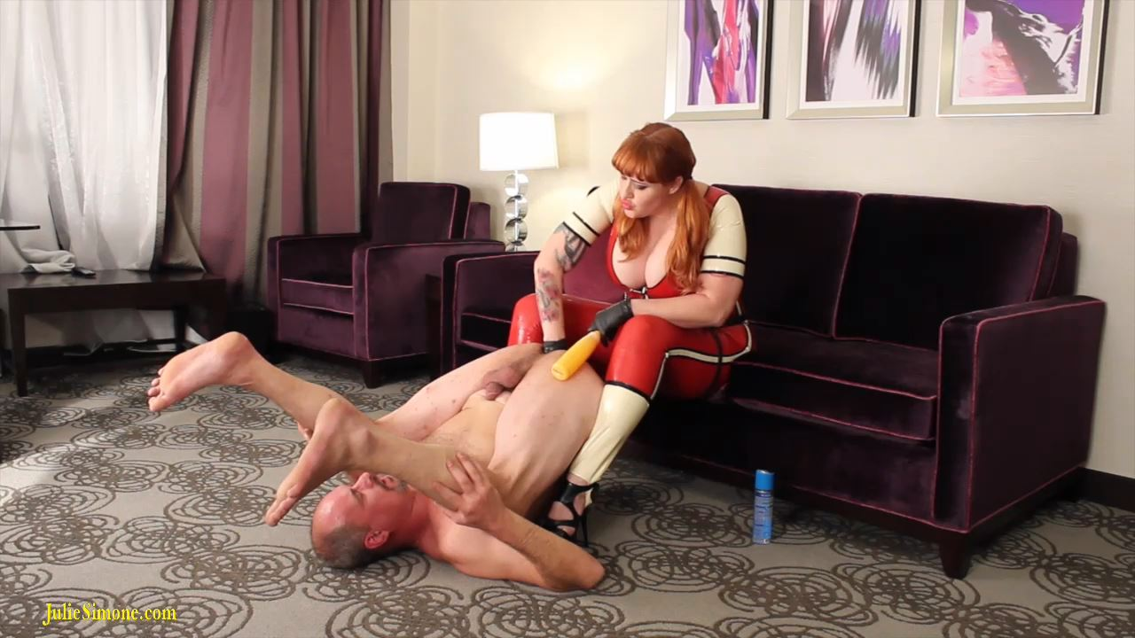 Julie Simone, Jack Steele In Scene: Batter Up Your Ass Part 2 - JULIESIMONE - HD/720p/MP4