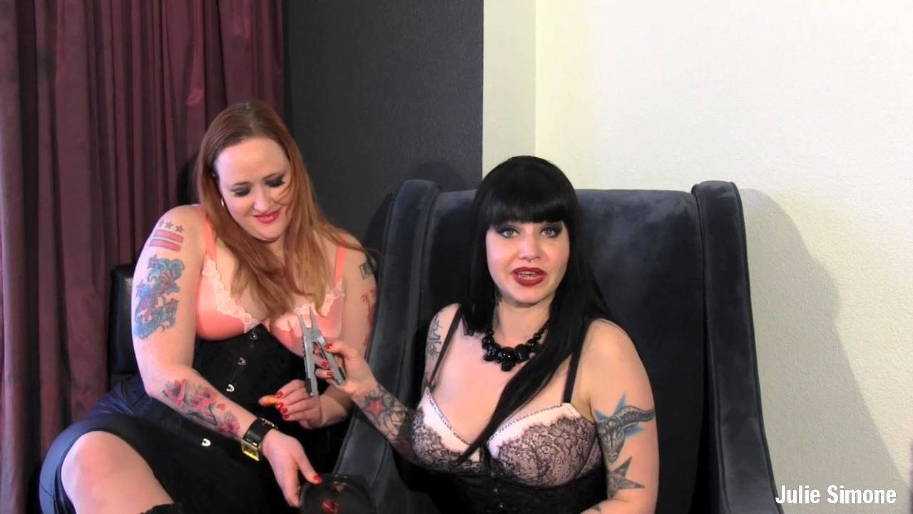Julie Simone, Maya Sinstress In Scene: Gelding or Chastity - JULIESIMONE - HD/720p/MP4