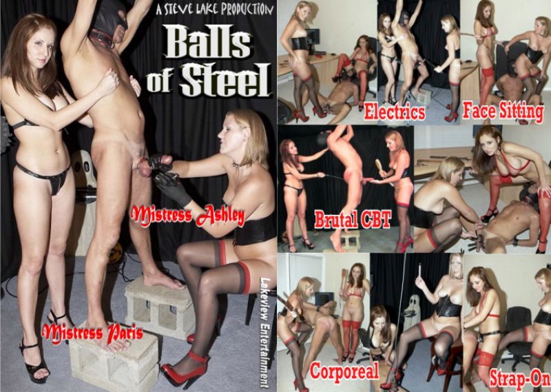 Paris Kennedy, Mistress Ashley, Cum Slut Tosha In Scene: Balls Of Steel - LAKEVIEW ENTERTAINMENT - SD/480p/MP4