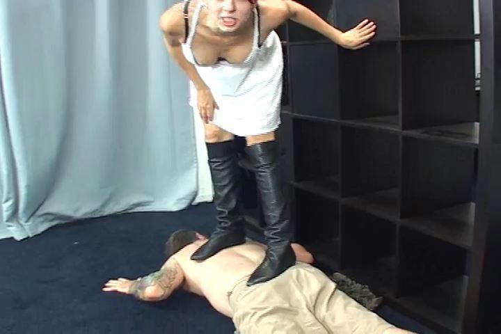 Miss Crash In Scene: Miss Crash finds her slave sitting in her chair - VIOLENTCHICKS - SD/480p/MP4