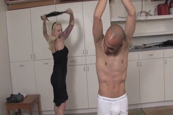 Mistress Olivia In Scene: Olivia gives Connor a brutal beating with a heavy flogger - VIOLENTCHICKS - SD/480p/MP4