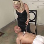 Mistress Olivia In Scene: Olivia makes Connor lie on a small wooden table – VIOLENTCHICKS – SD/480p/MP4