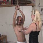Mistress Olivia In Scene: Olivia has Connor tied up in the garage, wearing nothing but his underwear – VIOLENTCHICKS – SD/480p/MP4