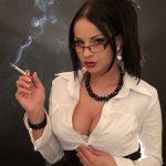 Goddess Abbie Cat In Scene: Smoking Sexy Secretary 2 – ABBIECATFETISH – HD/720p/MP4
