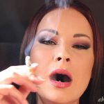 Goddess Abbie Cat In Scene: Close-up Audible Smoking – ABBIECATFETISH – HD/720p/MP4