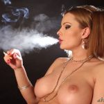 Goddess Abbie Cat In Scene: Elegant topless Smoking – ABBIECATFETISH – HD/720p/MP4
