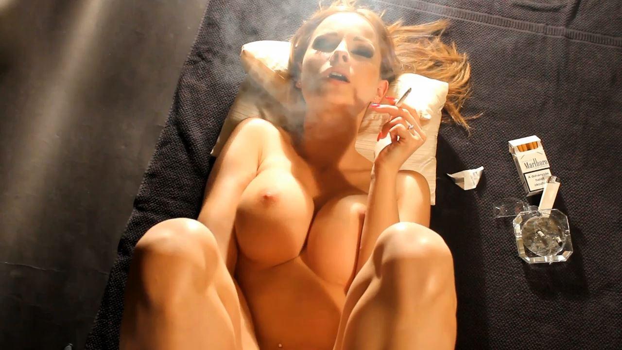 Goddess Abbie Cat In Scene: Smoking and Erotic Masturbating - ABBIECATFETISH - HD/720p/MP4