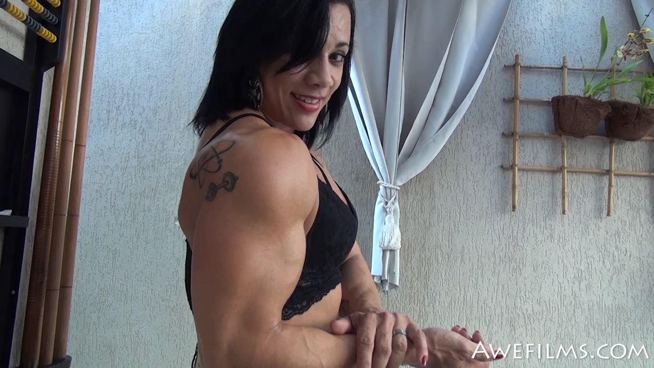 MANDA COSTA In Scene: Brazilian Muscle Flex Part 3 - AWEFILMS - HD/720p/MP4