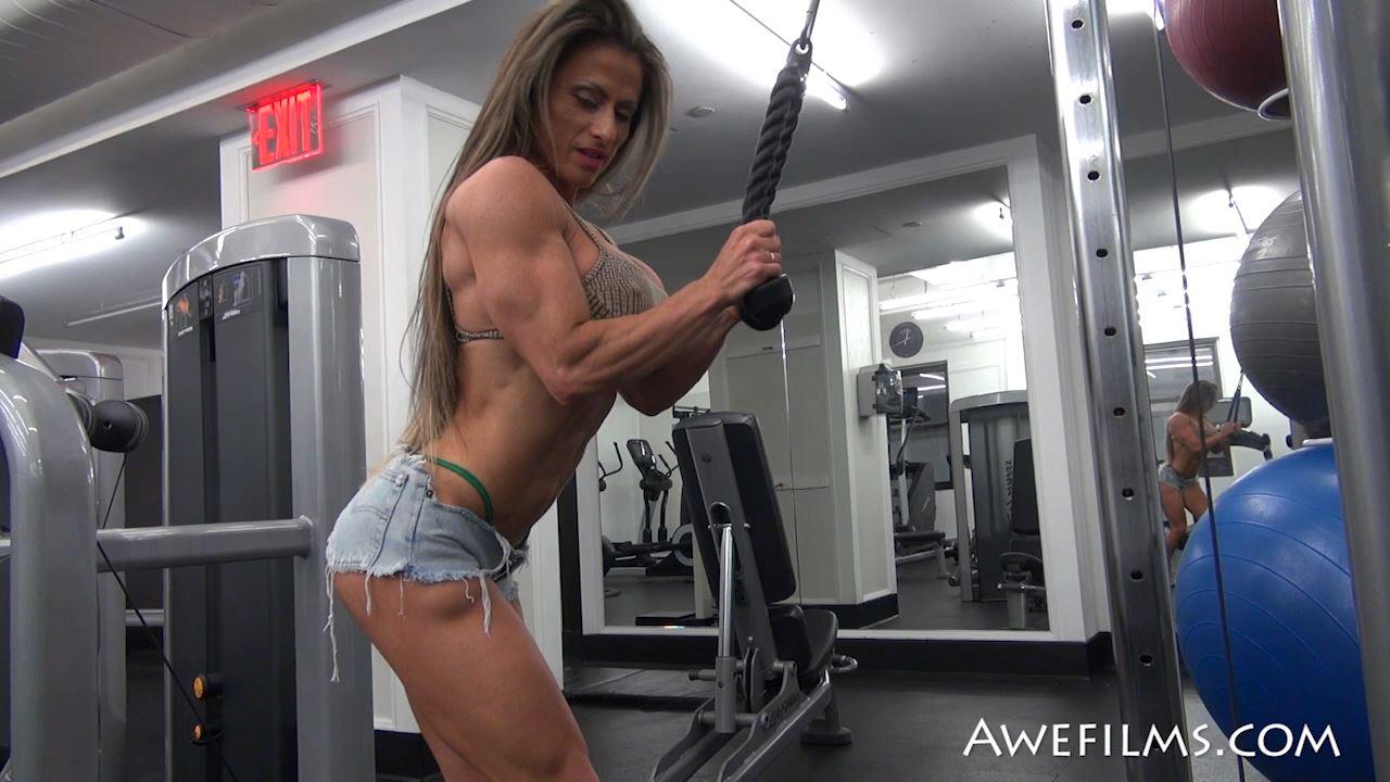 MARIA GARCIA In Scene: Sexy Pump Part 2 - AWEFILMS - HD/720p/MP4
