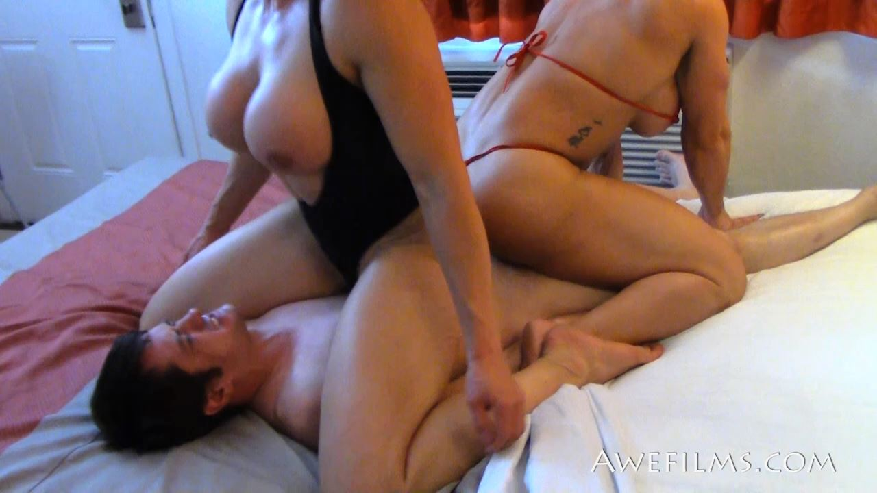 COMPETITIVE AMAZONS In Scene: Fighting Females 2 - AWEFILMS - HD/720p/MP4