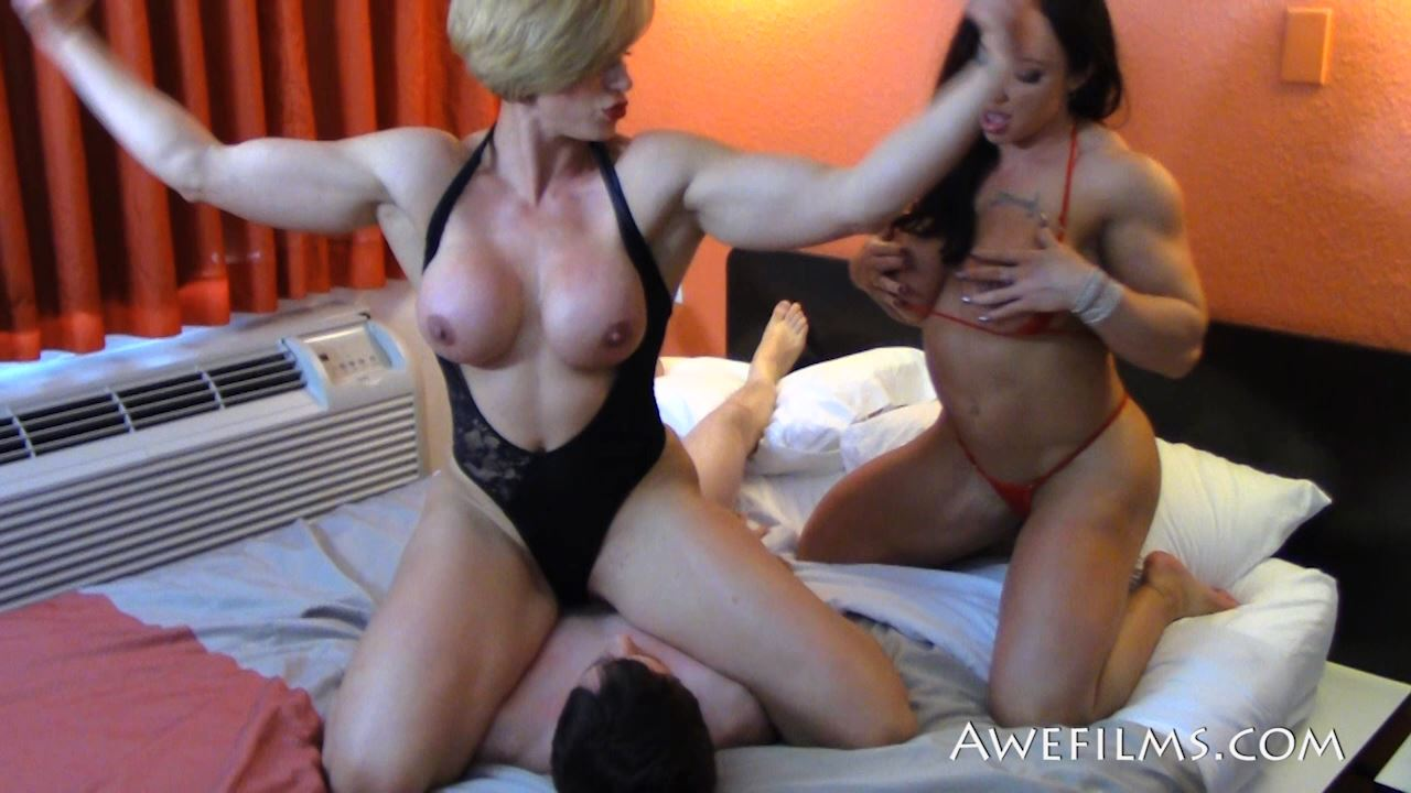 COMPETITIVE AMAZONS In Scene: Fighting Females 1 - AWEFILMS - HD/720p/MP4