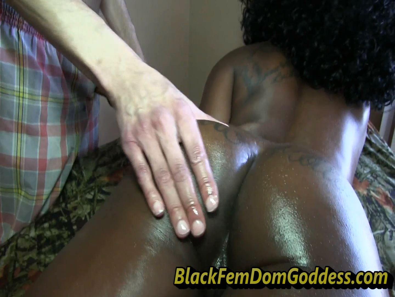 Moka Bankz In Scene: Sexy Massage - BLACKFEMDOMGODDESSES - FULL HD/1080p/MP4