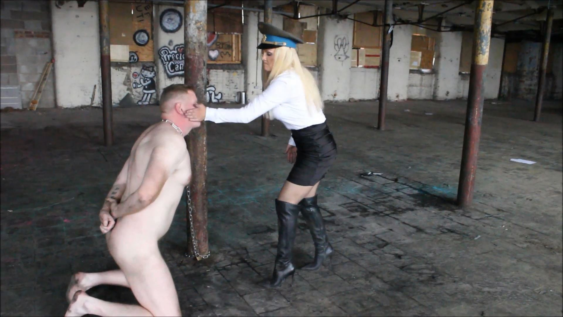 Bare hands In Scene: Hard Face Slapping Part 2 - THEBRITISHINSTITUTION - FULL HD/1080p/MP4