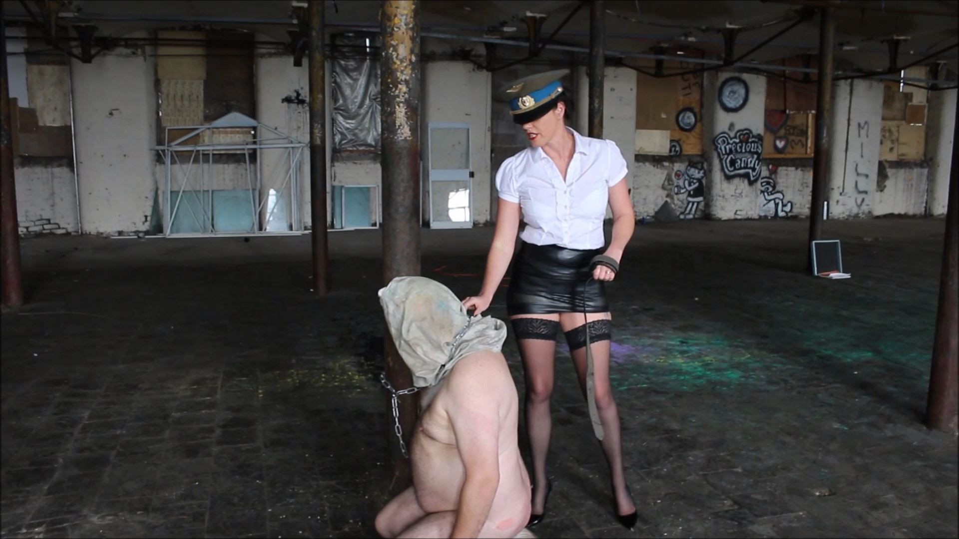Abu Grabe Stylee In Scene: Hooded and Thrashed Part 1 - THEBRITISHINSTITUTION - FULL HD/1080p/MP4