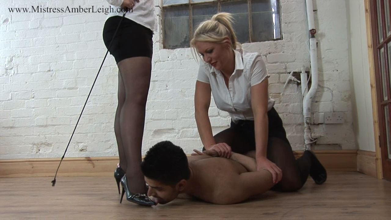 Mistress Amberleigh, Mistress Ashleigh Embers In Scene: Pinned And Humiliated - THEBRITISHINSTITUTION - HD/720p/MP4