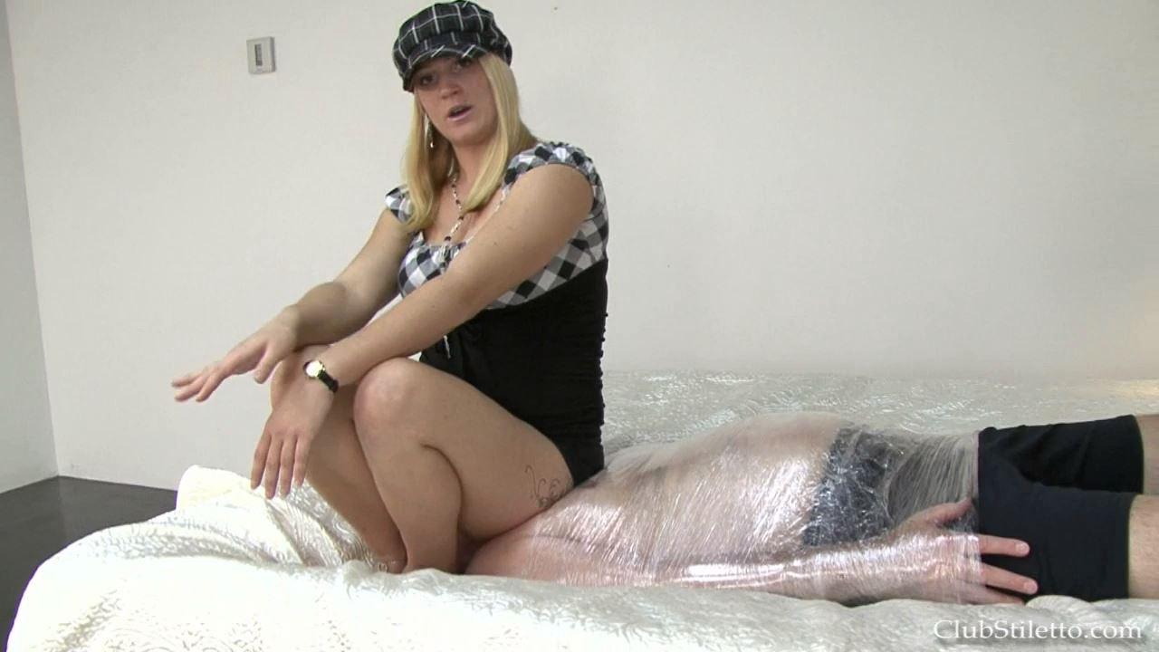 Mistress Britney In Scene: Bound Under MY Ass Full - CLUBSTILETTO - HD/720p/MP4