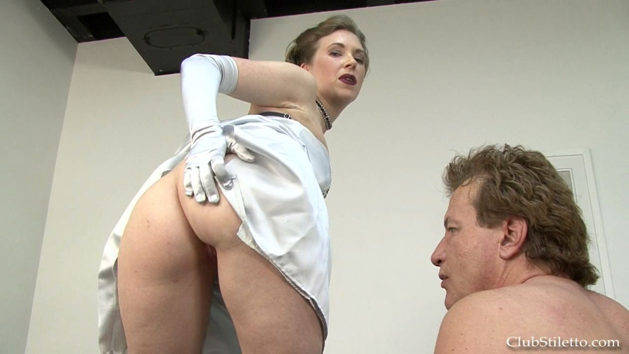Mistress T In Scene: MY New Hubby Licks MY Ass - CLUBSTILETTO - HD/720p/MP4