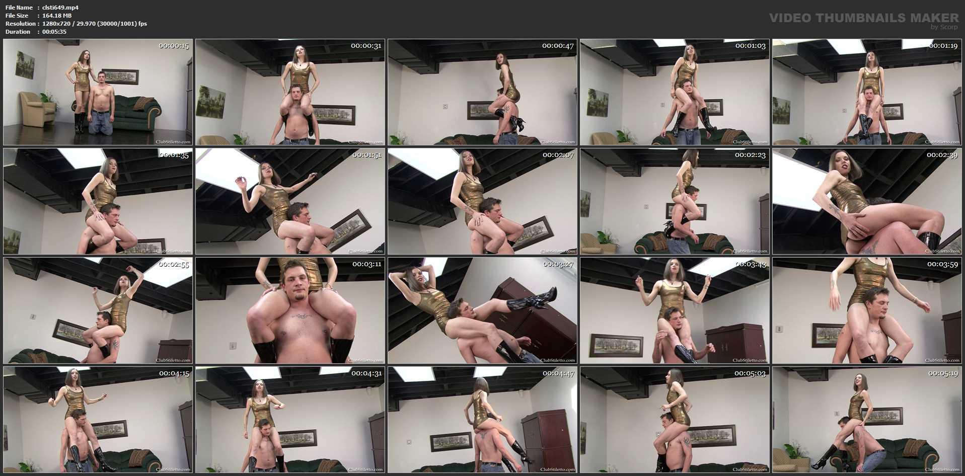 Mistress Bijou Steal In Scene: Work for ME Bitch - CLUBSTILETTO - HD/720p/MP4