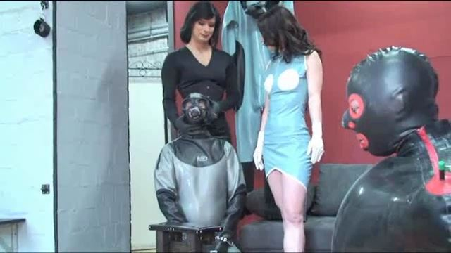 TV-Lady Joy van Doren, Annika Bond In Scene: Tyrannized - ERONITE-FEMDOM - LQ/360p/MP4