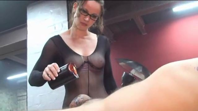 Annika Bond In Scene: Black Wax on the Breathless Slave - ERONITE-FEMDOM - LQ/360p/MP4
