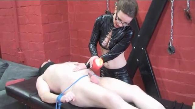 Annika Bond In Scene: The waxed cock - ERONITE-FEMDOM - LQ/360p/MP4