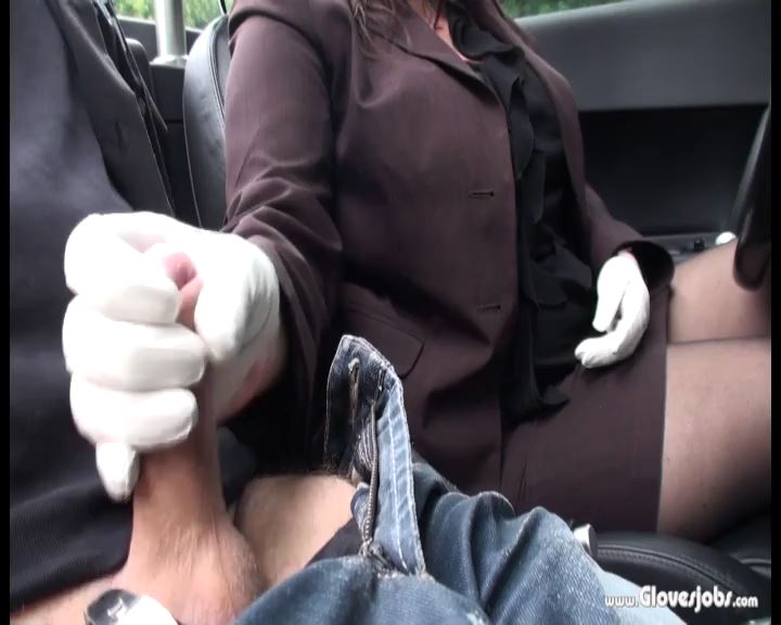 Leathergloved Carjob - GLOVESJOBS - SD/576p/MP4