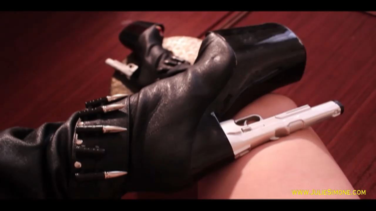 Julie Simone In Scene: Pistol Heeled Boot POV - JULIESIMONE - HD/720p/MP4