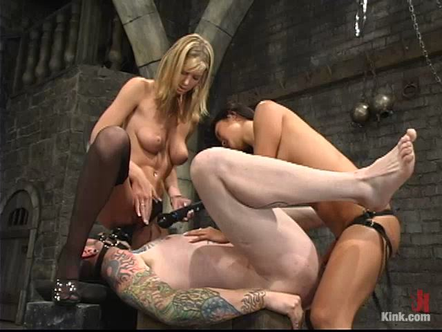 Miss Brooke, Diablo and Lucy Lee - MENINPAIN / KINK - SD/480p/MP4