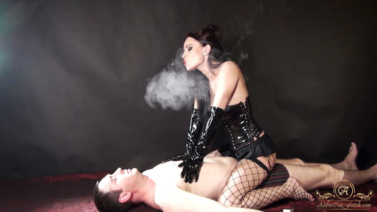 Goddess Abbie Cat In Scene: Human Ashtray - ABBIECATFETISH - HD/720p/MP4
