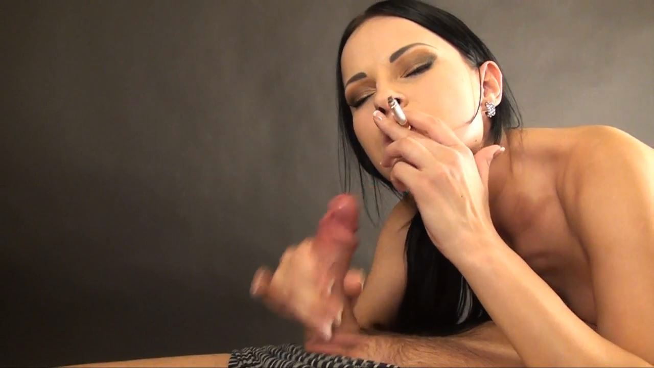 Goddess Abbie Cat In Scene: Smoking, Blow Job and Face Sitting - ABBIECATFETISH - HD/720p/MP4