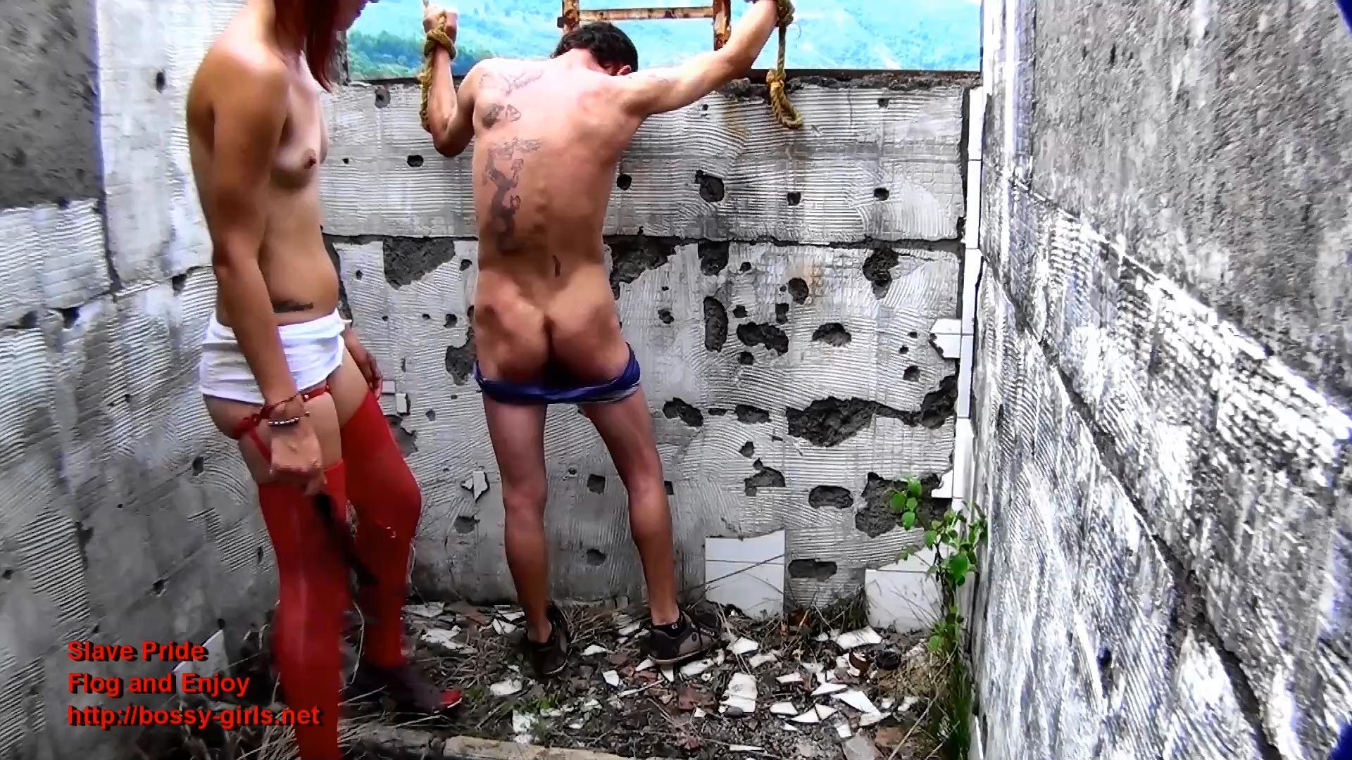 Ms. Liz, Mr. Valenada In Scene: SLAVE PRIDE 03 Flog And Enjoy - BOSSY-GIRLS - FULL HD/1080p/MP4