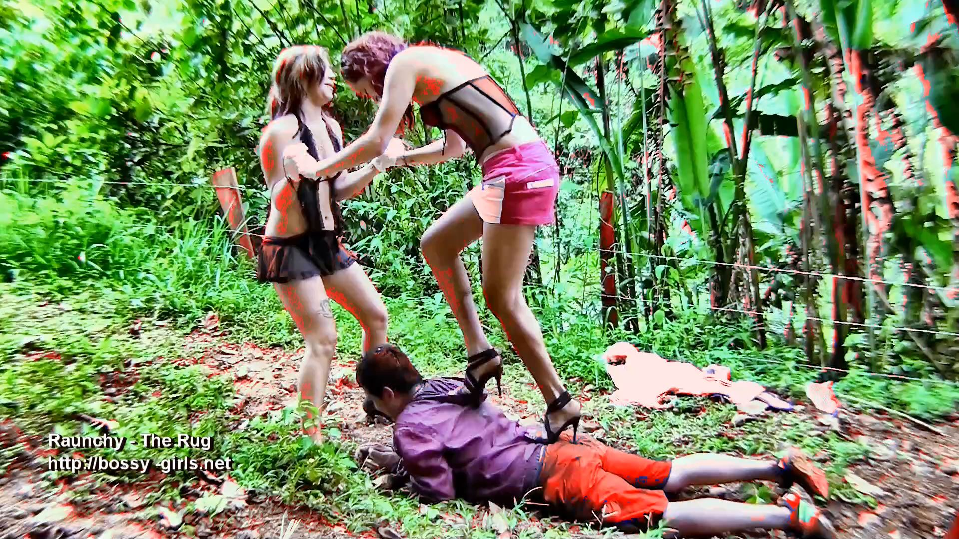 Jane Guerrero, Ms. Liz, slave doggie In Scene: RAUNCHY 03 The Rug - BOSSY-GIRLS - FULL HD/1080p/MP4