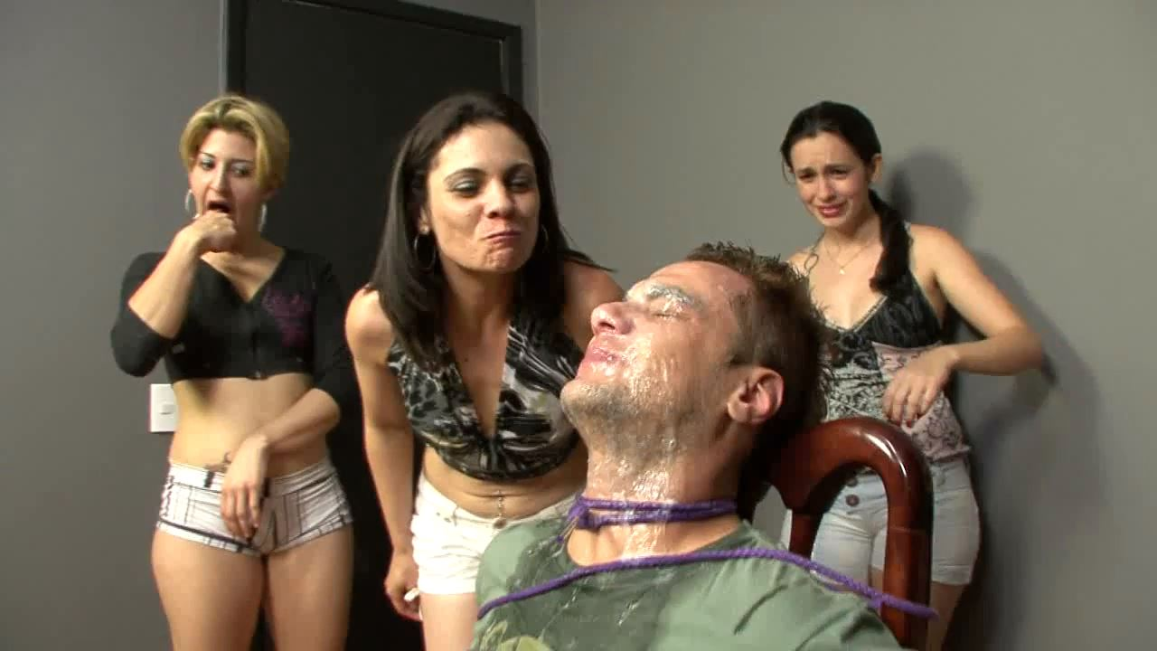 Nasty Spit Session - BRAZILFEMDOM - HD/720p/MP4