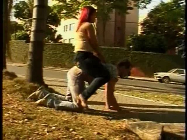 Ponyboy In Public - BRAZILFEMDOM - SD/480p/MP4