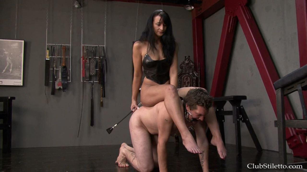 Mistress Sage In Scene: Born to Ride - CLUBSTILETTO - HD/720p/MP4
