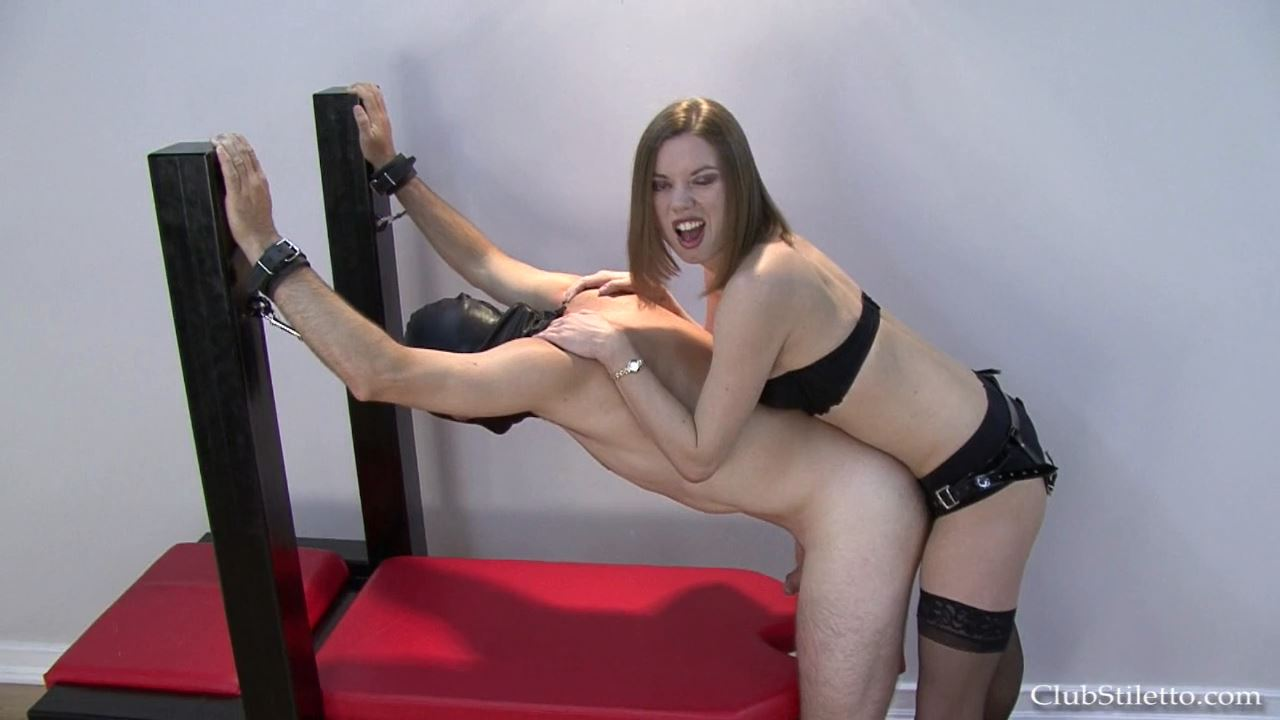 Mistress Bijou Steal In Scene: Make ME Cum Bitch - CLUBSTILETTO - HD/720p/MP4