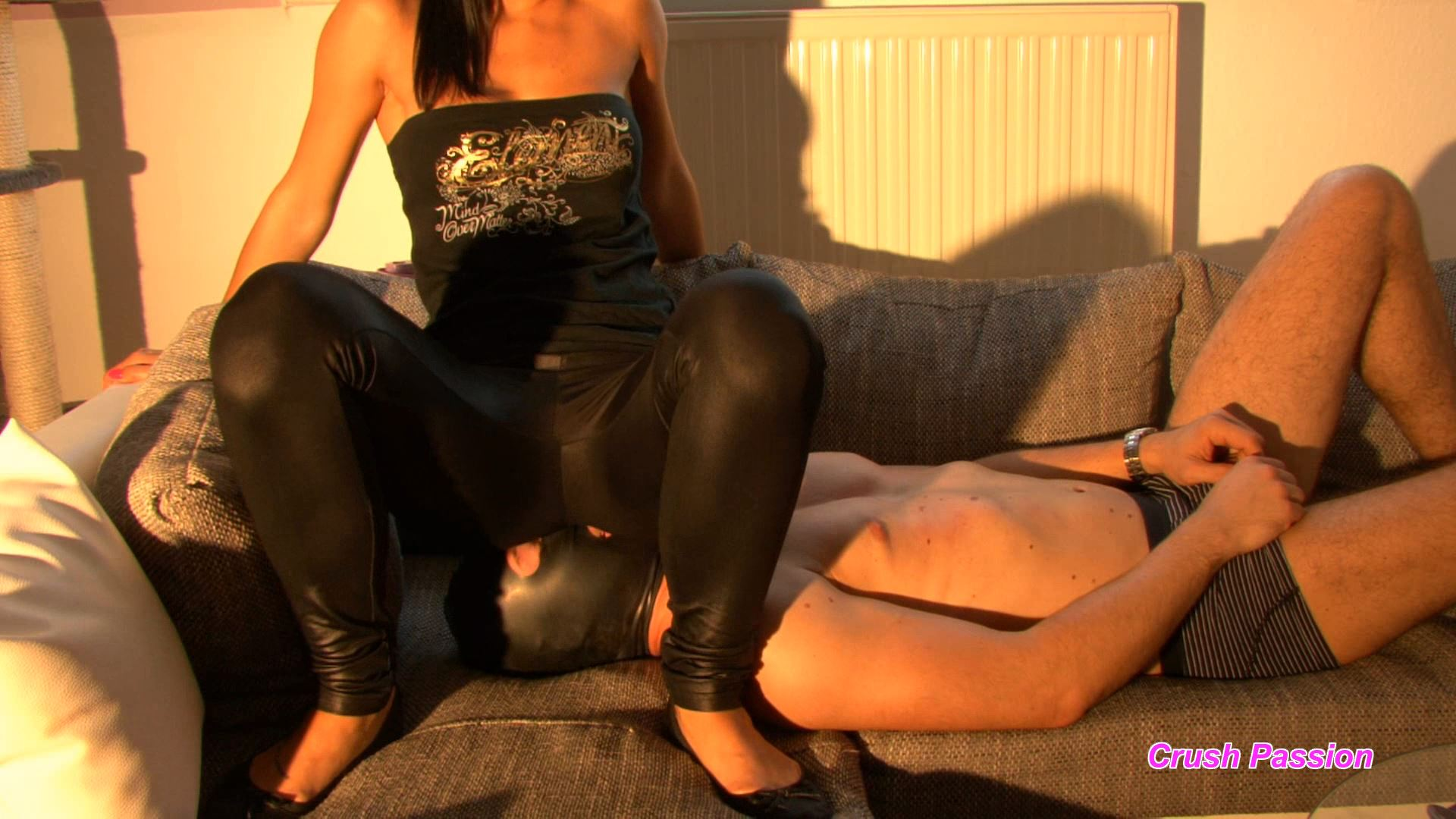 Mistress Chanel In Scene: Slave Gets Punished With Facesitting - CLIPS4SALE / CRUSH PASSION - FULL HD/1080p/MP4