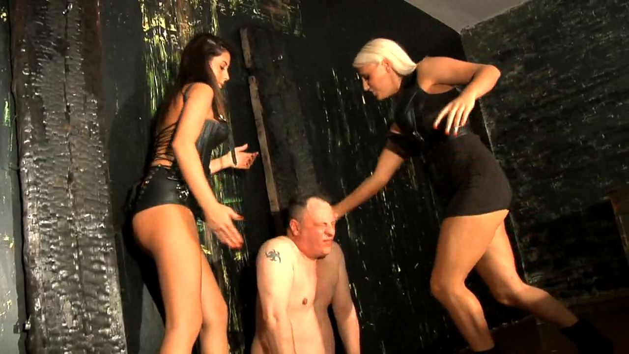 Mistress Jacky Joy, Mistress Audrina In Scene: Face Slapping Massacre - DEADLYDOMMES - HD/720p/MP4