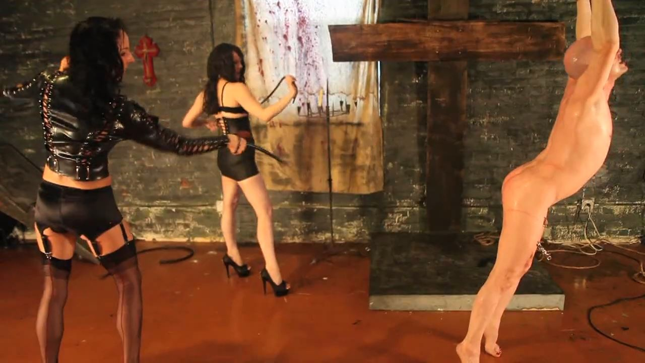 Mistress Dietrich, Mistress Trish In Scene: Whipped Mercilessly - DEADLYDOMMES - HD/720p/MP4