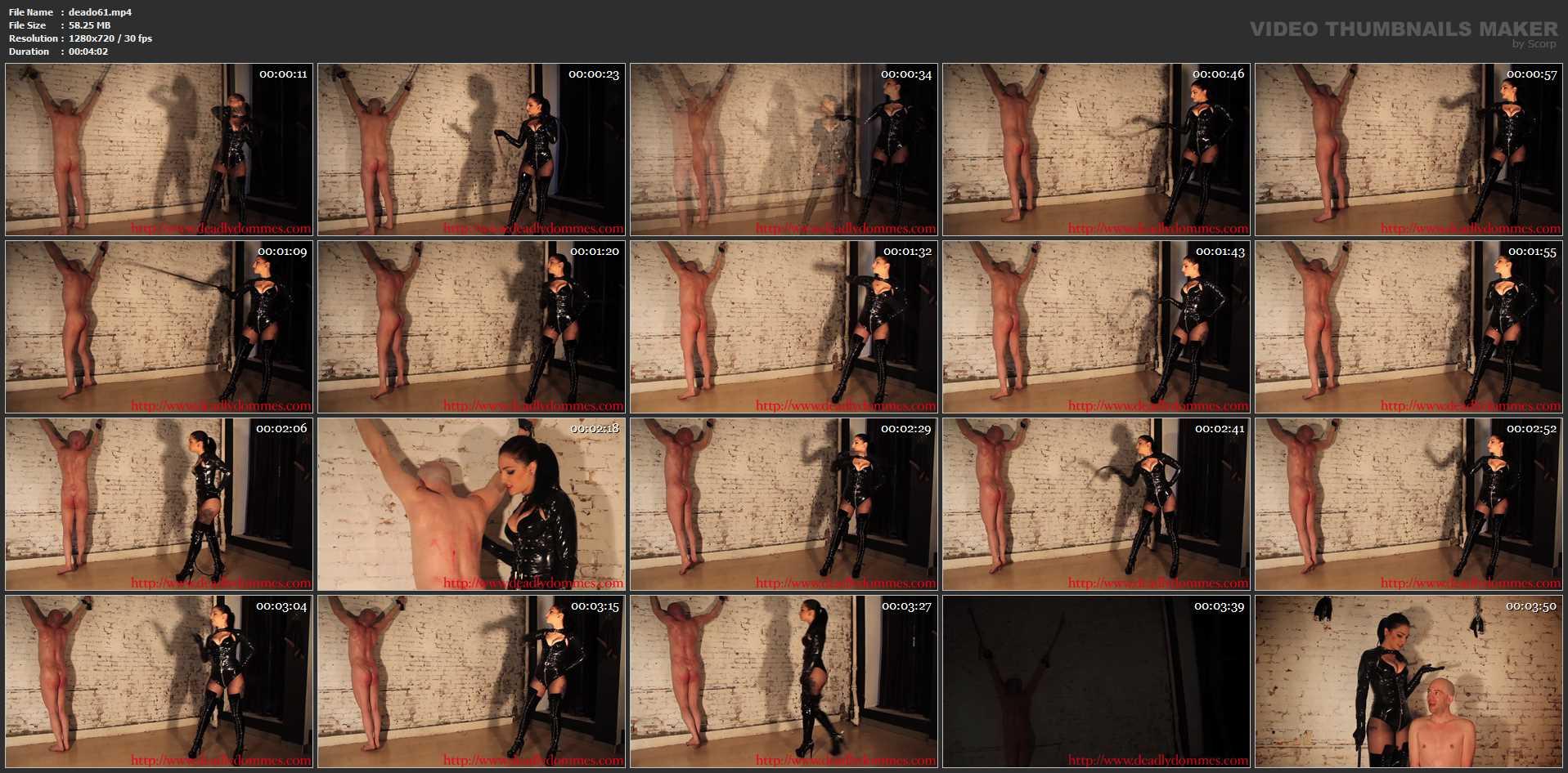 Mistress Cracks The Whip - DEADLYDOMMES - HD/720p/MP4