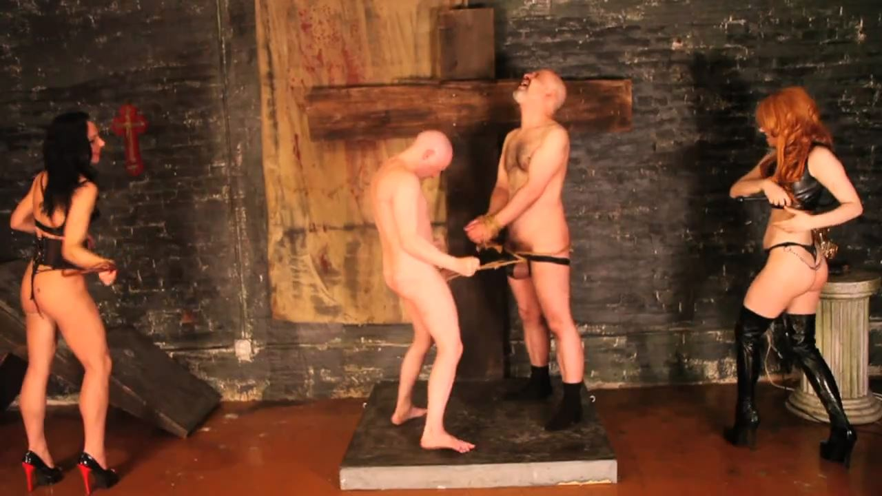 Mistress Dietrich, Mistress Trish In Scene: Tied, Thrashed - DEADLYDOMMES - HD/720p/MP4