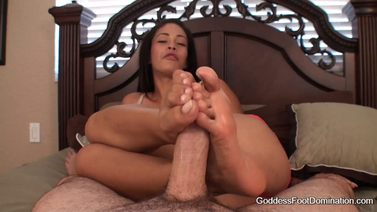 Goddess Jamie In Scene: Your Release - GODDESSFOOTJOBS - HD/720p/MP4